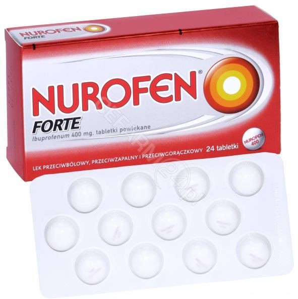 top Boots Healthcare Nurofen Forte 400mg 24 szt.