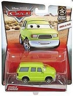 Cars Pojazd Deluxe duży Charlie Cargo