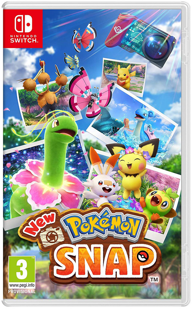 New Pokémon Snap (GRA NINTENDO SWITCH)
