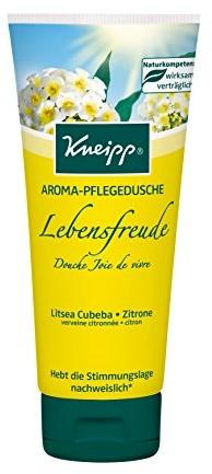 Kneipp kneipp Aroma pielęgnujący żel pod prysznic radość z życia, (3 x 200 ml) 911004