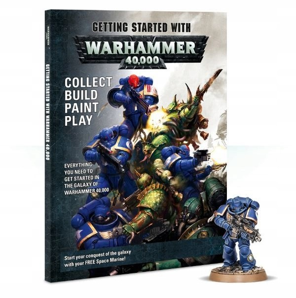 Games Workshop Getting Started With Warhammer 40000