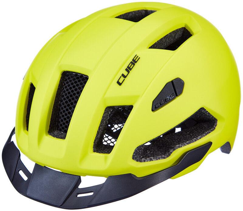 Cube Evoy Hybrid Kask, yellow L 57-62cm 2020 Kaski rowerowe 162360379