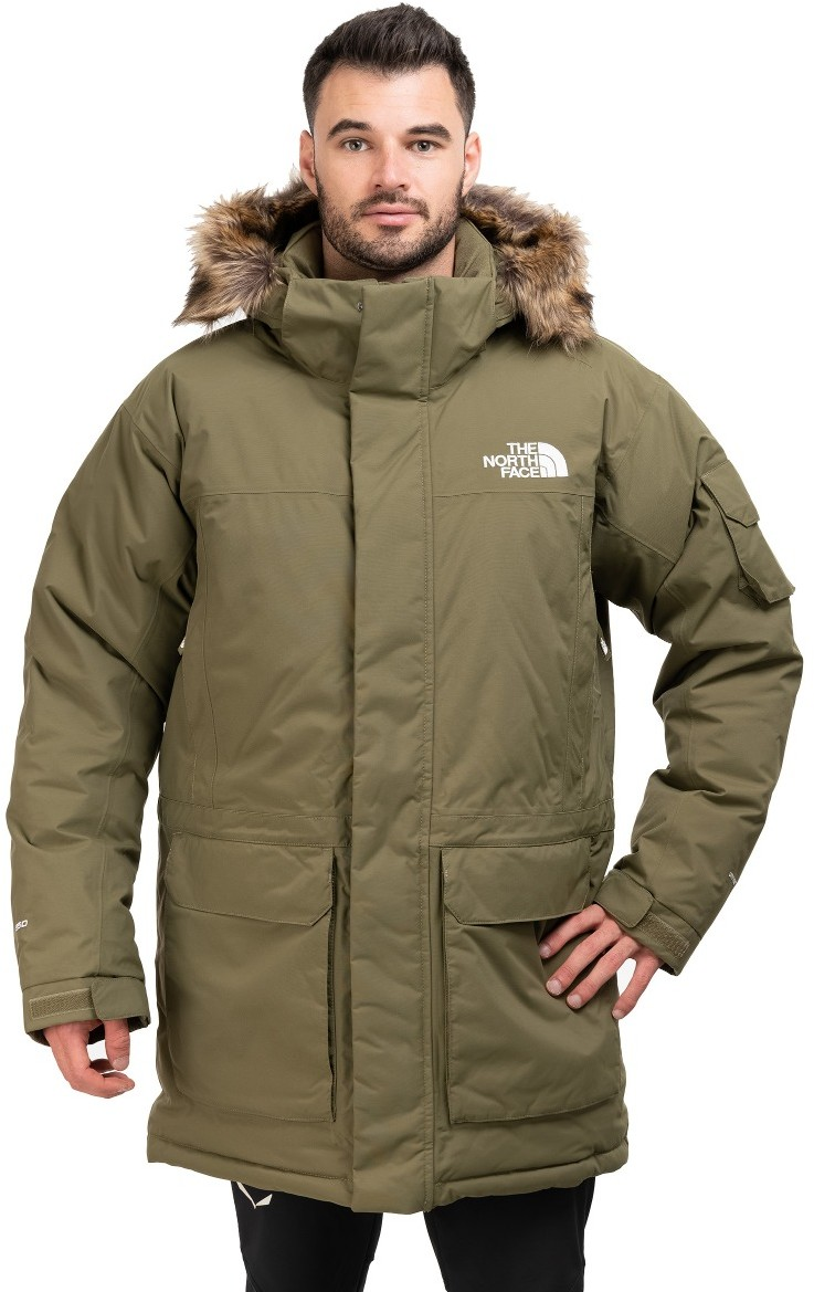 The North Face KURTKA RECYCLED MCMURDO-BURNT OLIVE GREEN
