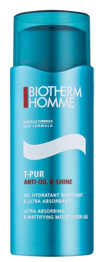 BIOTHERM BIOTHERM - Homme T-pur Anti Oil & Shine Matujący i nawilżający żel do twarzy N/A  Dla Panów 50 ml