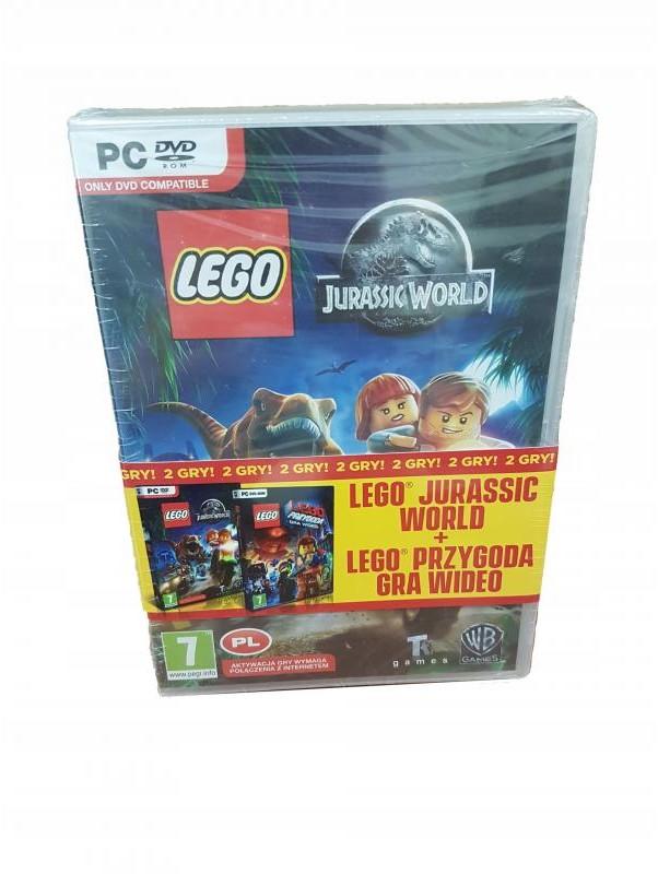 Lego Jurassic World + Lego Przygoda 2 PC