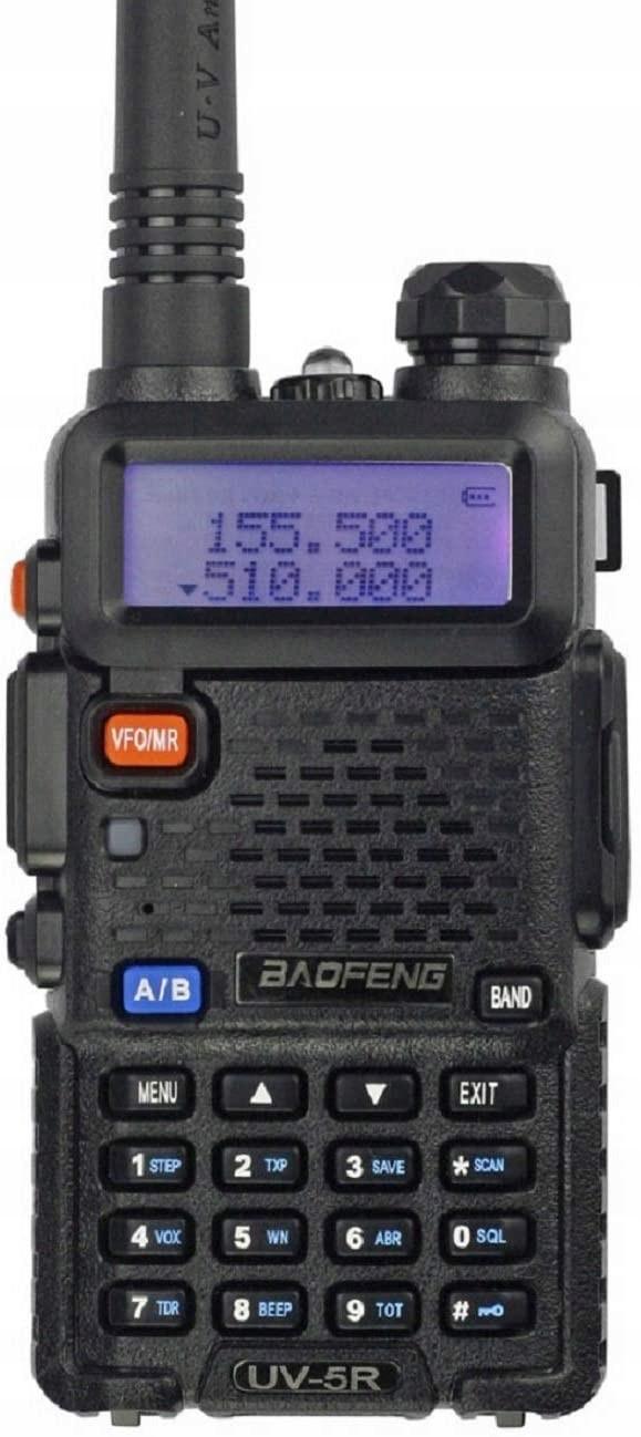 Baofeng Krótkofalówka Pmr UV-5R Radiotelefon 5W