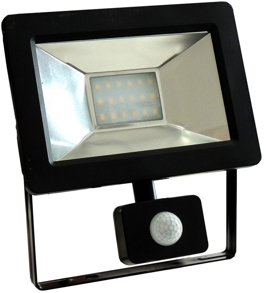 Wojnarowscy LED Reflektor z czujnikiem NOCTIS 2 SMD LED/20W/230V IP44 1250lm czarny