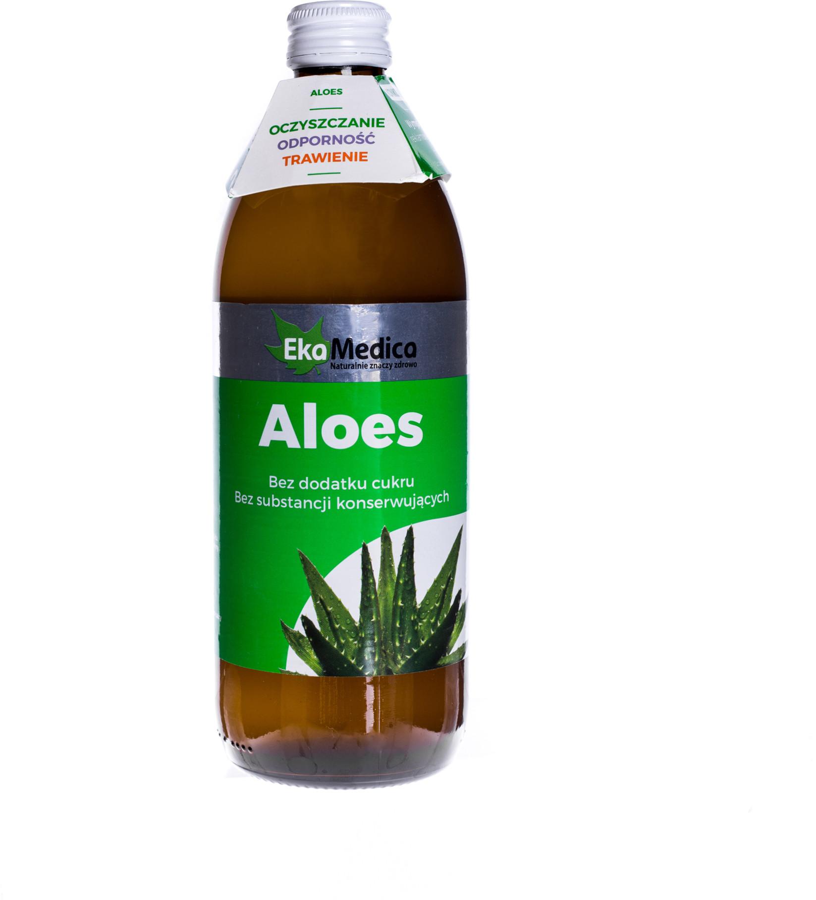 EkaMedica Aloes 500 ml | DARMOWA DOSTAWA OD 149 PLN!