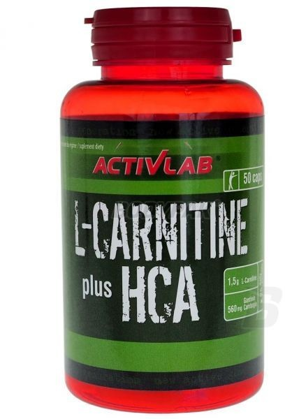 Activita L-Carnitine HCA Plus 50 kapsułek