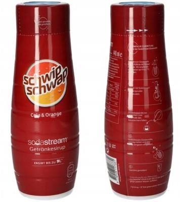 Soda Stream Syrop Schwip Schwap Cola Orange 440 ml