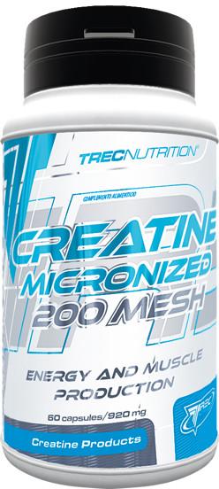 Trec Creatine micronized 200 mesh 60kap