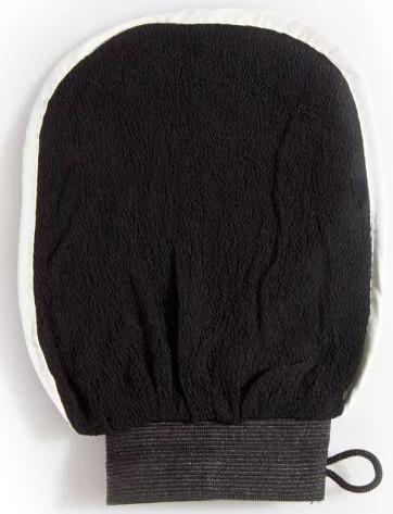 MAROKO Produkt Rękawica Kessa Royal Lux do Masażu Ciała oraz do Zabiegu Hammam Czarna