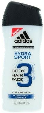 Adidas Żel pod prysznic do włosów, twarzy i ciała - Hydra Sport 3in1 Shower Gel Body&Hair&Face Żel pod prysznic do włosów, twarzy i ciała - Hydra Sport 3in1 Shower Gel Body&Hair&Face