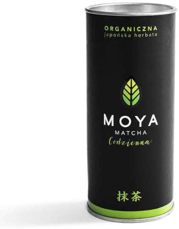 Moya Matcha Organiczna Japońska Zielona Herbata Matcha Codzienna 30g - MOYA MATCHA MOYHERBMATCOD