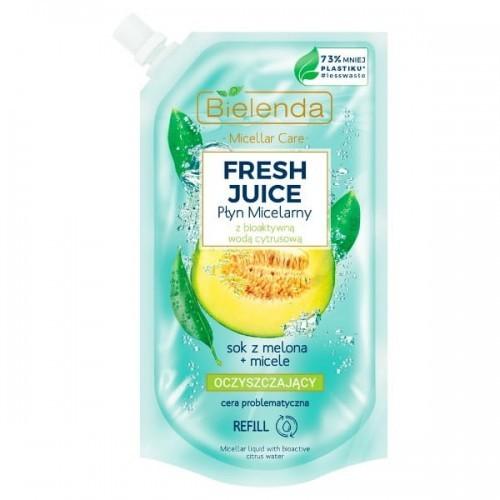 Bielenda Fresh Juice płyn micelarny Melon 500ml Doypack