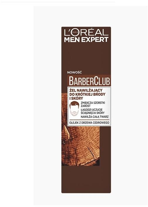 L'Oreal Paris L'Oreal Paris Men Expert Barber Club żel nawilżający do krótkiej brody i skóry 50ml