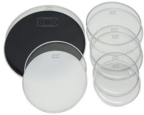 Gewa pure Schlagzeugfell Set aus je 2x 10/12/14/13SD/18BD passend für alle Marken PS803002