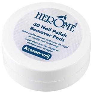 Herôme Cosmetics herôme Cosmetics Caring Nail Polish Remover Pads, 1er Pack (1X 42G) E22135