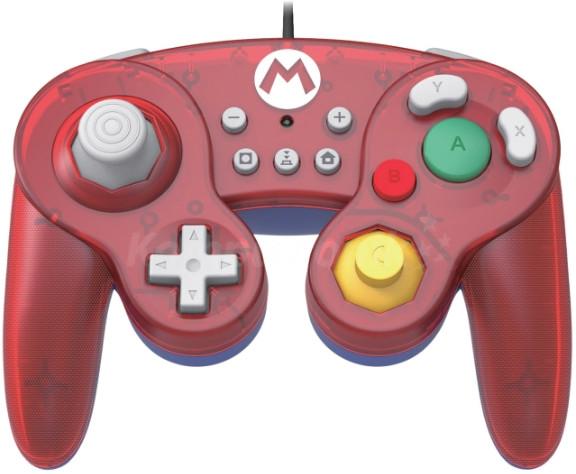 HORI GameCube Style BattlePad Mario