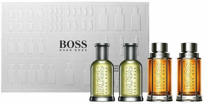 Hugo Boss Bottled EDT 5ml x 2 + The Scent EDT 5ml x 2 93826-uniw