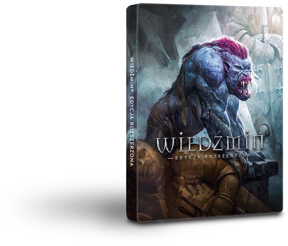 Wiedźmin: Edycja Rozszerzona - Edycja 10-lecia ze steelbookiem PC