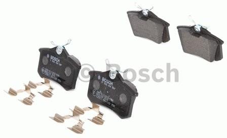 Bosch Zestaw klocków hamulcowych, hamulce tarczowe 0 986 494 597