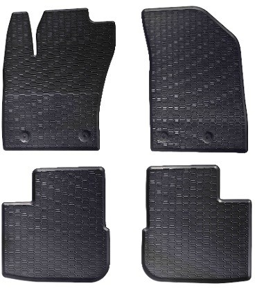 GEYER-HOSAJA Dywaniki gumowe czarne GEYER-HOSAJA 882/4C, 4 szt, FIAT TIPO hatchback, kombi (2016-) GEYER-HOSAJA 01 1 99 200 21 00 1 1
