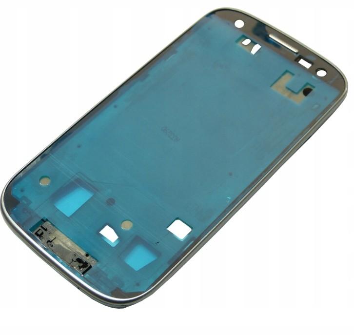 Samsung Ramka LCD Galaxy S3 i9305 Srebrny