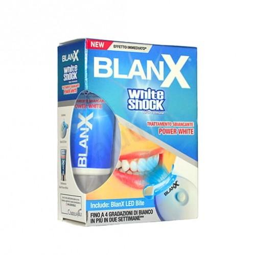 COSWELL SpA Blanx White Shock 30ml+ system wybielający LED- wybielająca pasta do zębów 893C-5459F_20130519143357