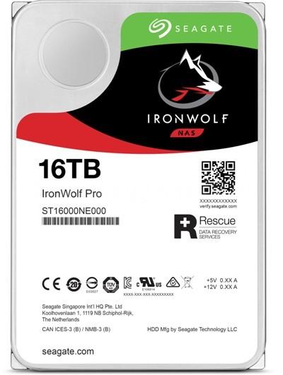 Seagate IronWolfPro 16TB (ST16000NE000)