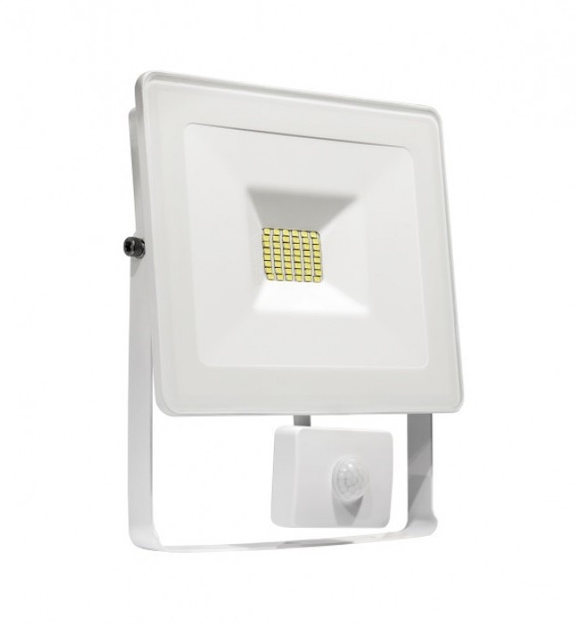 Wojnarowscy LED Reflektor z czujnikiem NOCTIS LUX SMD LED/10W/230V IP44 900lm biały