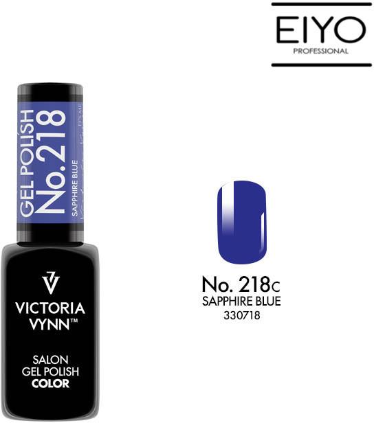 Victoria Vynn Lakier hybrydowy GEL POLISH COLOR Sapphire Blue nr 218 8 ml NOWOŚĆ! 330718