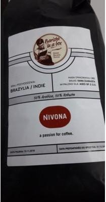 Nivona Kawa ziarnista Brasila/Indie 1kg + Raty 10x0% + Dostawa za 0 zł od 99 zł Sprawdź!