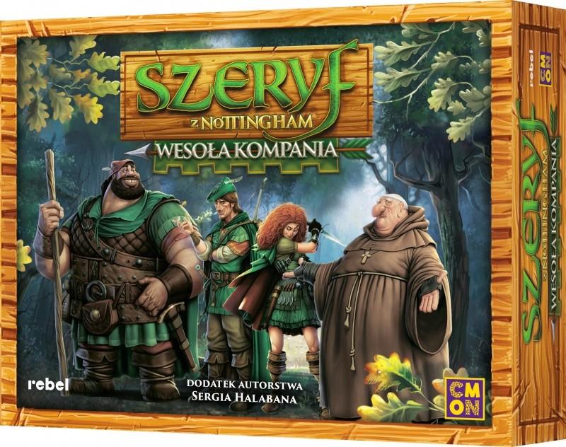 Rebel.pl Szeryf z Nottingham: Wesoła Kompania 5902650611177