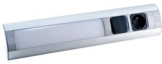 Orno Gniazdo meblowe z oświetleniem LED OR-AE-1317