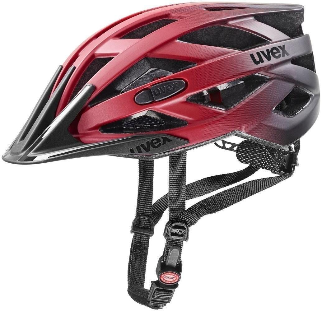 UVEX I-VO CC Red Black Matt 56-60