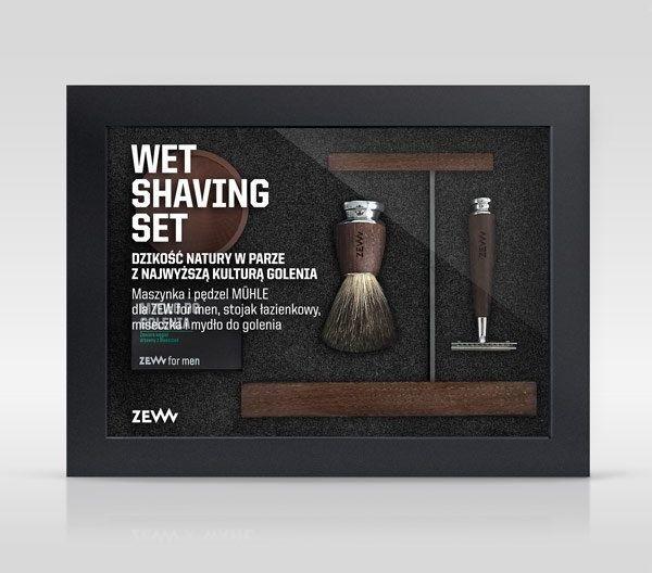 Zew for men Zestaw Wet Shaving ZEW-8258
