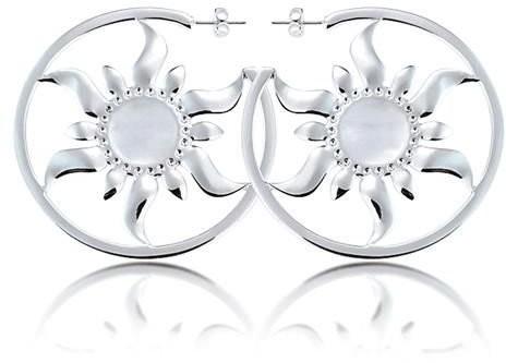 Goebel Sun - Earrings White Gold 12100661