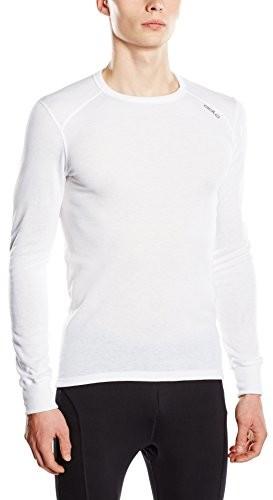 Odlo Crew Neck Warm termoaktywna koszulka z długim rękawem, męska, biały, l 152022