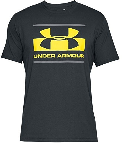Under Armour Blocked Sportstyle koszulka sportowa męska, z krótkimi rękawami, czarny, MD 1305667-016