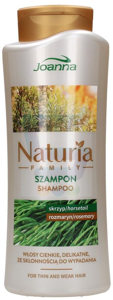 Joanna Naturia Family Szampon do włosów cienkich, delikatnych, ze skłonnością do wypadania 750 ml