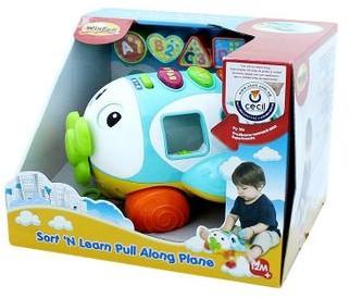 Smily Play Play Zabawka interaktywna Samolot Śmiałek ABC 4895038515055