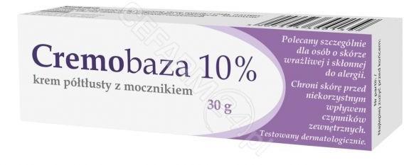 Farmapol Cremobaza 10% krem półtłusty z mocznikiem 30 g