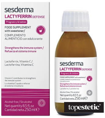 Sesderma Lactyferrin Food Supplement Suplement diety 250 ml