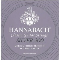 Hannabach 652666) 900MHT struna do gitary klasycznej medium/heavy) E6w