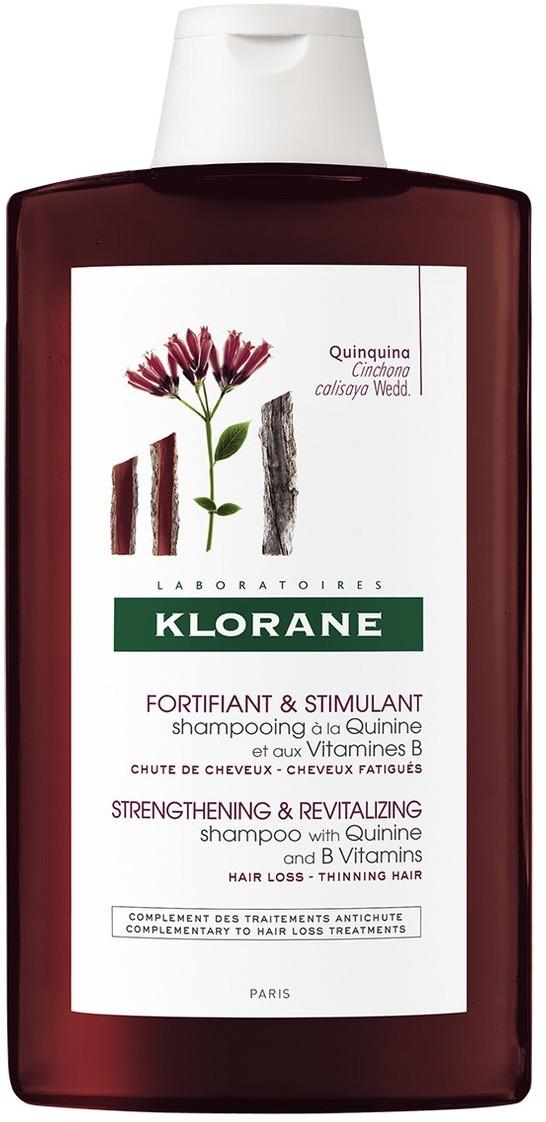 Klorane szampon z chininą i witaminami grupy B, 400ml