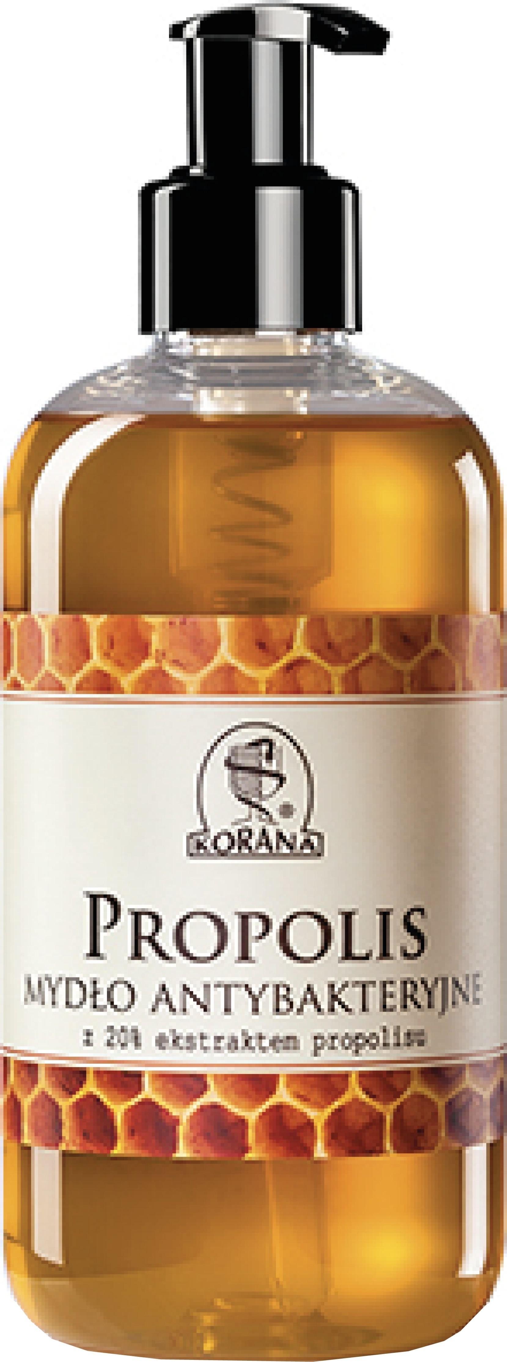 KORANA Propolis mydło ANTYBAKTERYJNE z 20% ekstraktem propolisu 5905829002912