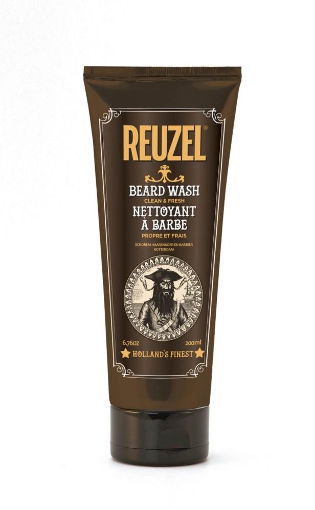 Reuzel Reuzel Beard Clean&Fresh Beard Wash szampon do brody w tubie 200 ml REUZEL BEARD WASH 200