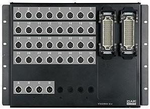 Dap Audio DAP Stagebox, 32 in, 4 out, złącza Neutrik D9620