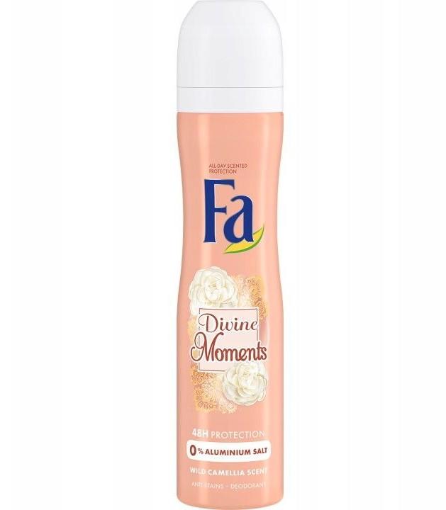 Fa Divine Moments Deodorant 250ml dezodorant w sprayu